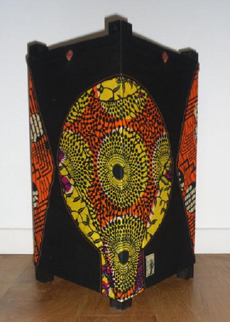 LAMPE DECO SIYA tissu africain